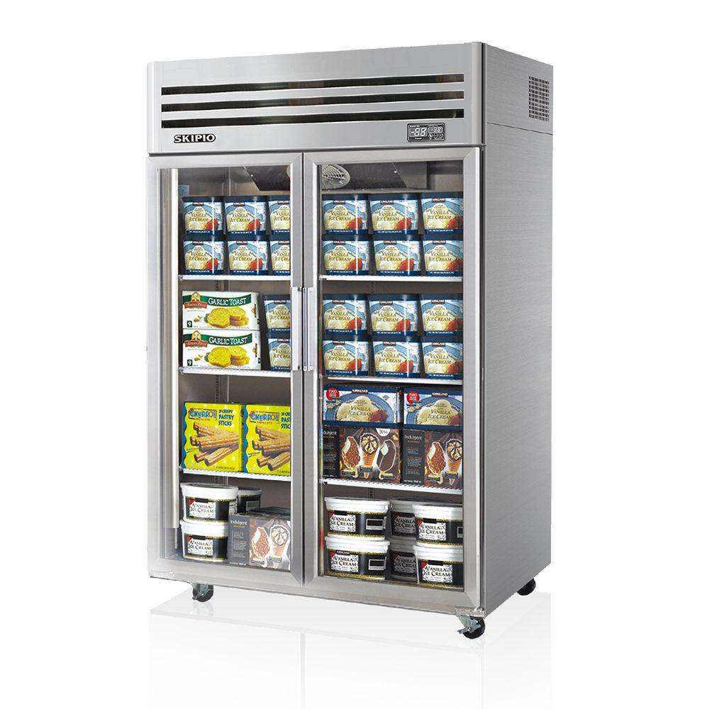 SFT45-2G Glass Door Freezer